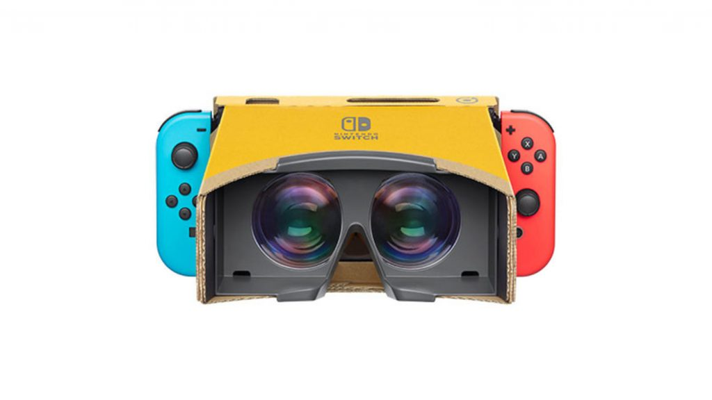 Nintendo Labo VR Headset Confirmed