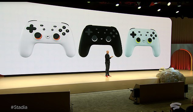 New Controller Massive New Google Gaming Platform Revealed That Takes On Sony & Microsoft
