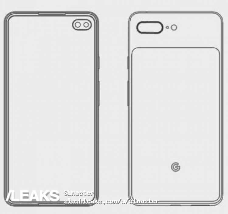 crop Pixel 4XL Mimics Samsung Galaxy S10 In Leaked Render