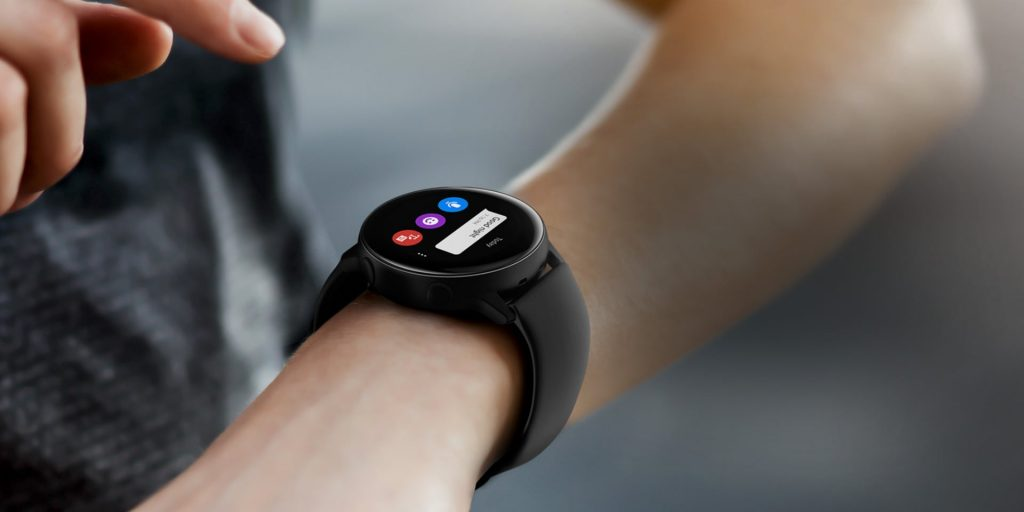 galaxy watch active touch wrist message call speech b Samsung Expand Health & Well Being Services In Oz
