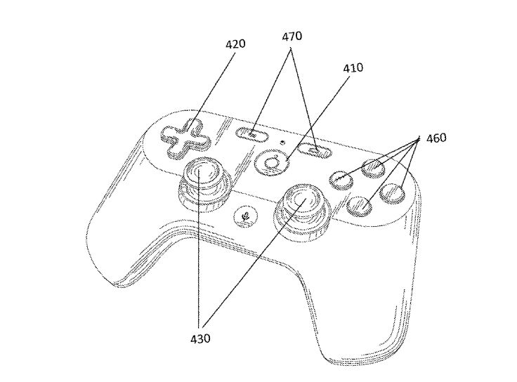 Google's video game controller has (potentially) been revealed early in patent filings