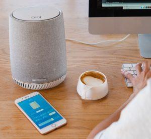orbi voice 2 300x277 Netgear Release World First Hybrid Smart Speaker Router