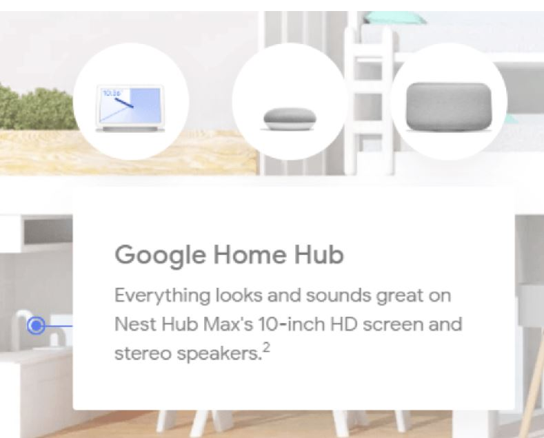 Nest Hub Google Accidently Reveals 'Nest Hub' With 10″ Display & Stereo Sound