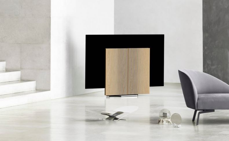 bo Bang & Olufsen Unveil $30K TV With Rotating Speakers