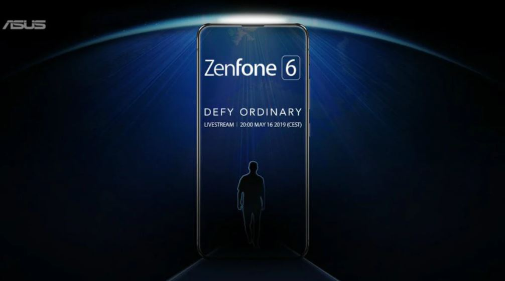 "defy ordinary ASUS Unveils ""Zenfone 6"" With Pop Up Camera"