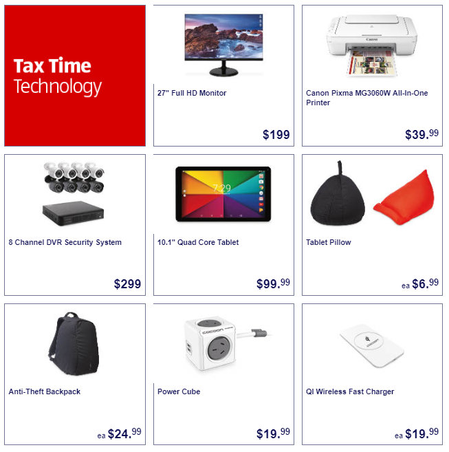 tax time 4 1 ALDI Unveil Canon Pixma All In One Printer For $40