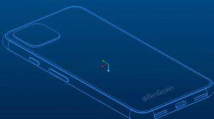 Pixel4 CAD back 300x167 Fresh Google Pixel 4 Details Leaked