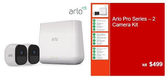 arlo 499 ALDI Reveal $499 Arlo Pro Series – 2 Camera Kit