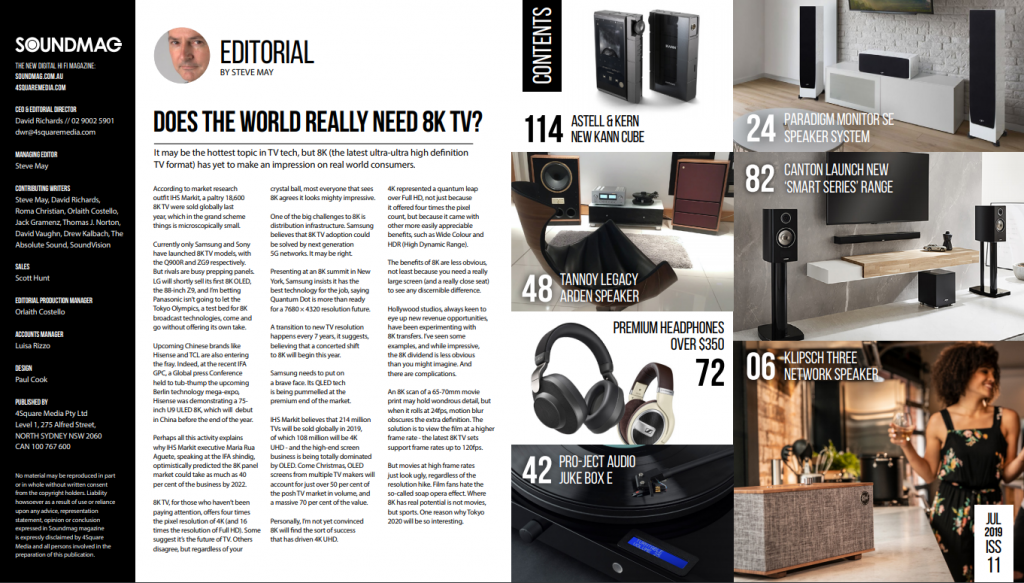 contents New SoundMag Issue Out Now