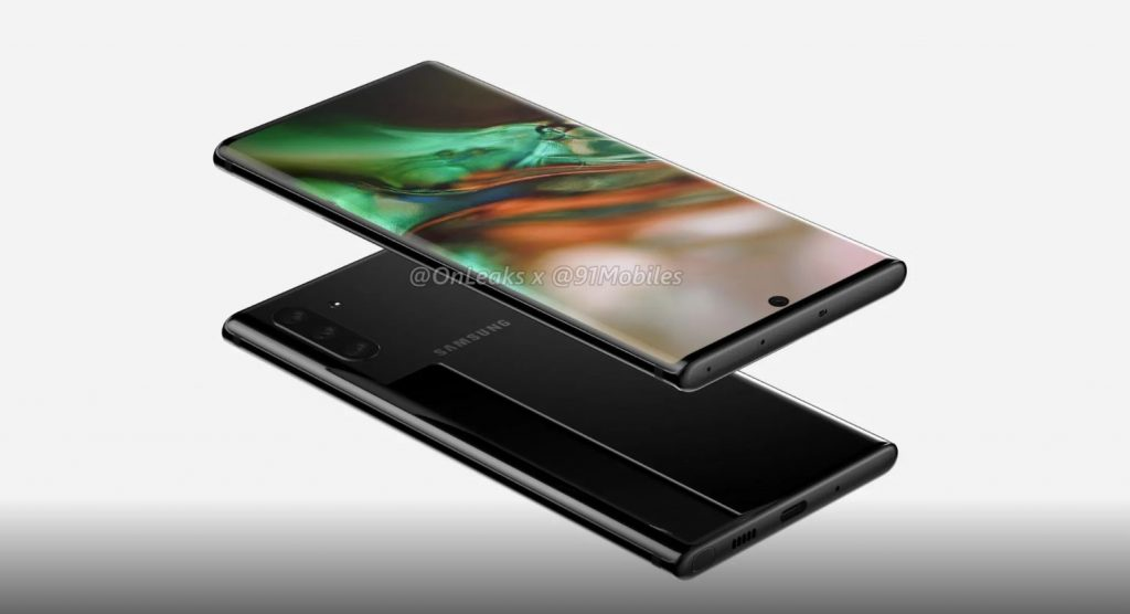 ghalaxy note 10 leak 1024x556 Samsung Galaxy Note 10 Revealed In Latest Leak