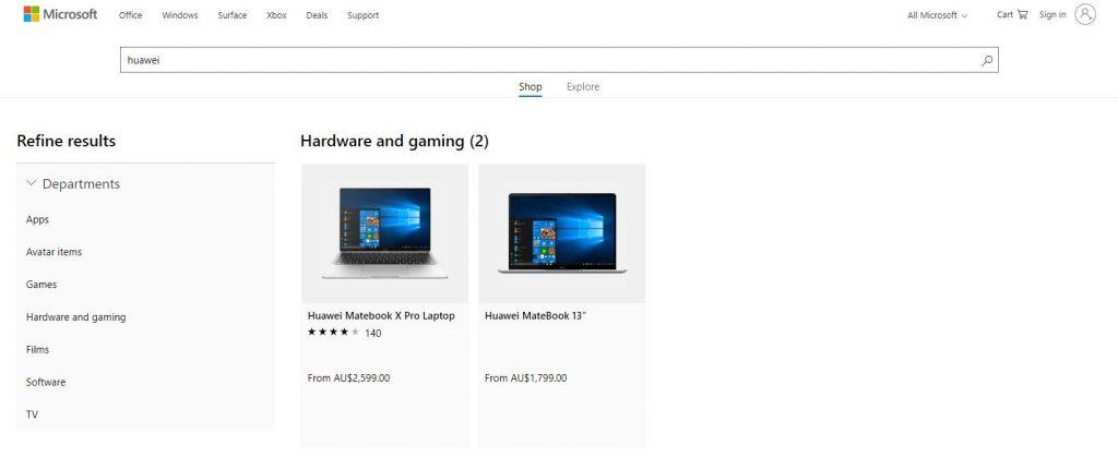matebook 1024x430 Huawei Matebook Returns to Microsoft Store