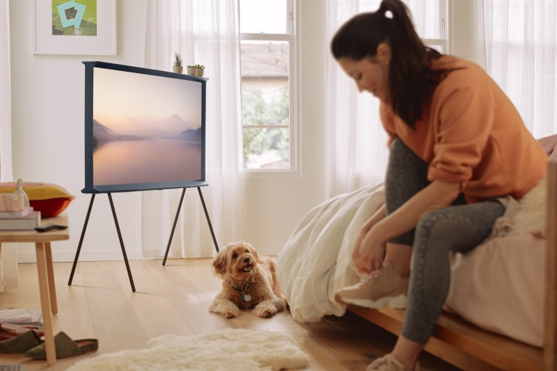serif 3 Samsung Adds QLED To Arty Serif Television