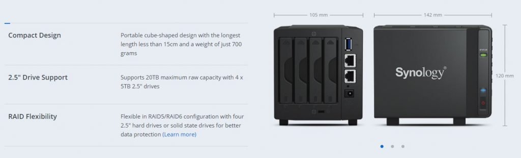 synology 23 1024x312 Synology Launch 'Palm Sized Personal Cloud'