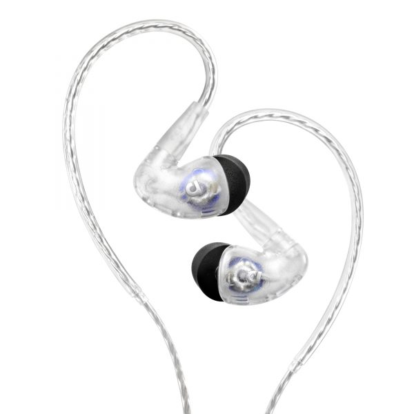 AF100 MK2 Clear Both 600x600 Audiofly Release Updated In Ear Monitors
