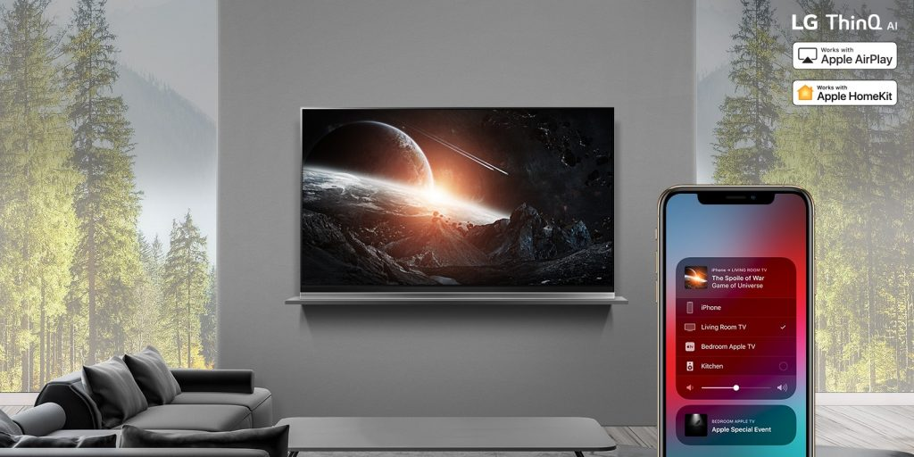 LG makes Apple AirPlay 2 and HomeKit available