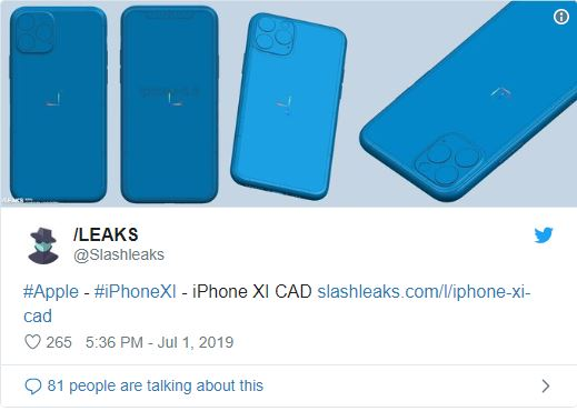 iPhone 11 leaks Leaked: iPhone 11 Event September 10?