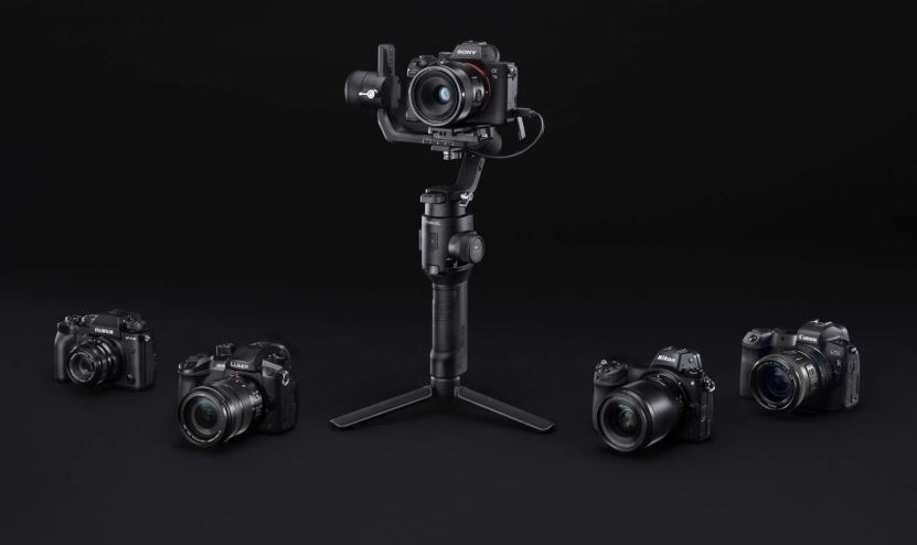 ronic rc DJI Debut New Mirrorless Camera Gimbal