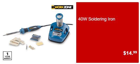 solder ALDI Go Hard On DIY Tools