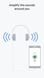 sound amplifier 169x300 Google Expand Hearing Aid App Roll Out