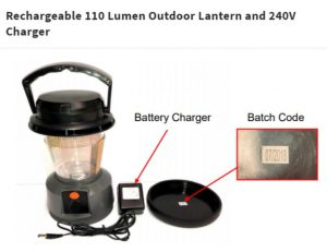 BCF3 300x231 BCF Outdoor Lantern Chargers Recalled