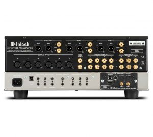 C2700 Back 300x269 McIntosh Add DA2 Module To New Tube Pre Amp