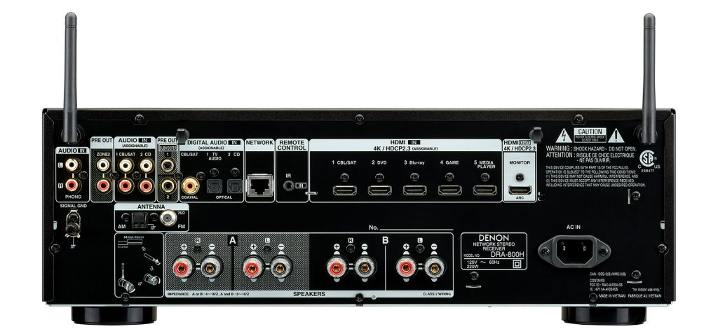D SDA 800H gallery 3 na Denon AVR & Stereo Streamer On Sale This Month