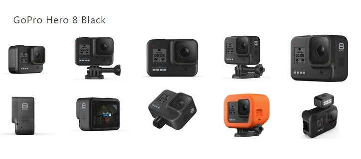 GoPro Hero 8 Black GoPro Hero 8 & Max Leaked Ahead Of Release