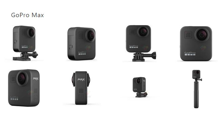 GoPro Max GoPro Hero 8 & Max Leaked Ahead Of Release