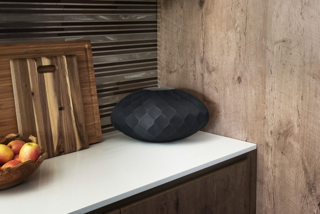 Low Formation Wedge Black in Kitchen Bowers & Wilkins Unveil Formation Wireless Range