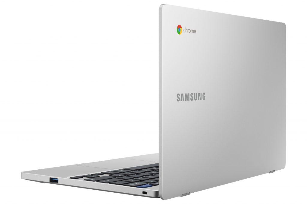 Chromebook 4 Back Open Platinum Titan min Samsung Unveil Premium Refresh of Chromebook Lineup
