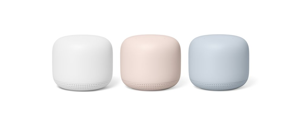 Nest Wifi Colours Google Unveil True Wireless Earbuds And Update WiFi Mesh Network