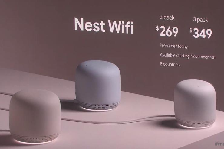 nest wifi 100814104 orig Google Unveil True Wireless Earbuds And Update WiFi Mesh Network