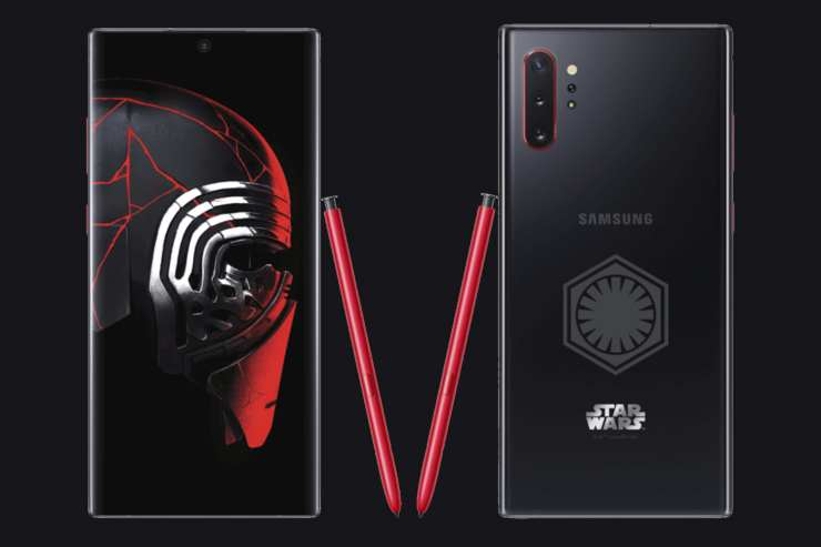 Star Wars Note10 Samsung Release Limited Edition Star Wars Note10+