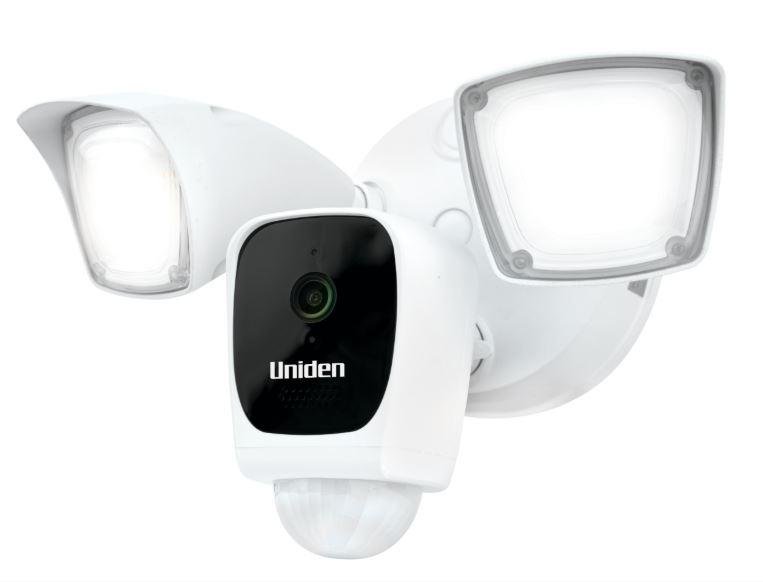 Uniden AppCam Floodlight Angled cmyk Uniden Beefs Up Oz Security Range