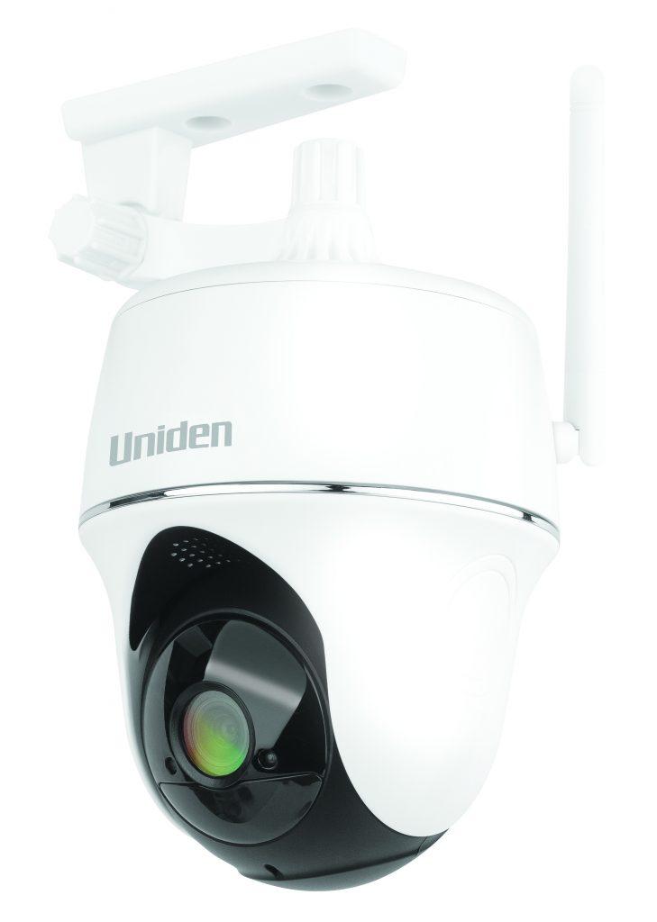 Uniden PTZ CameraAngled PlasticMount HighRes Uniden Beefs Up Oz Security Range