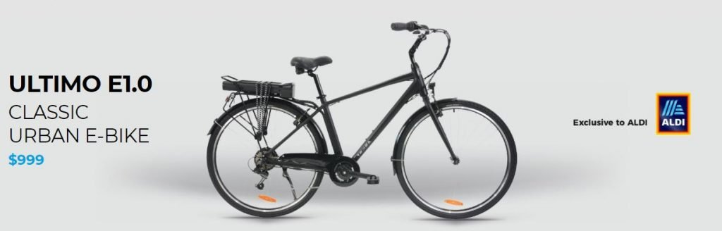 Cell Ultimo Bike 1 $999 E Bike From ALDI Special Buys