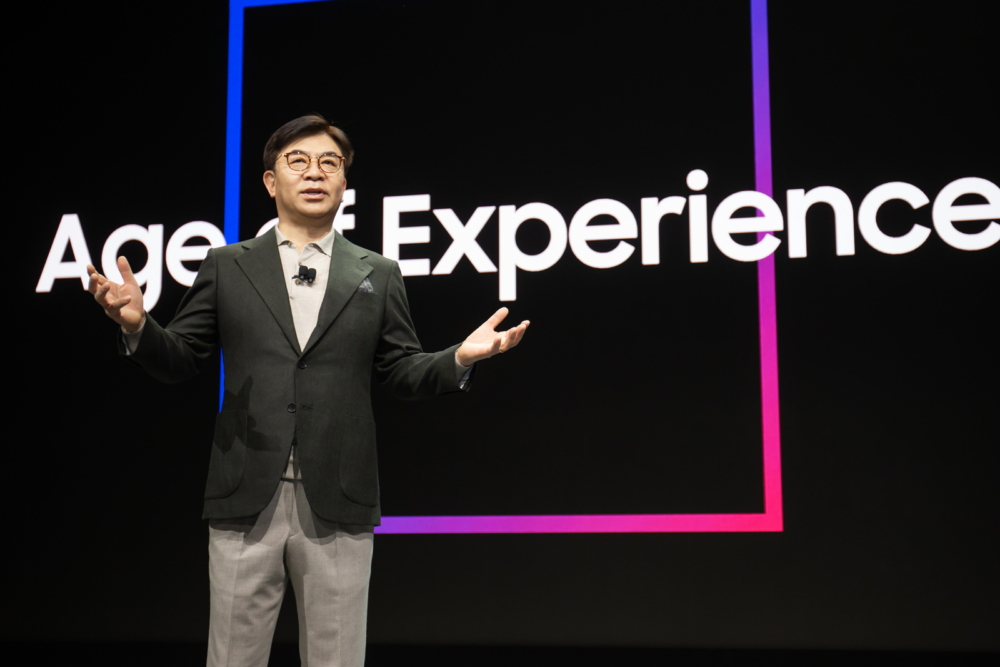 Age of Experience Samsung Takes Centre Stage At CES