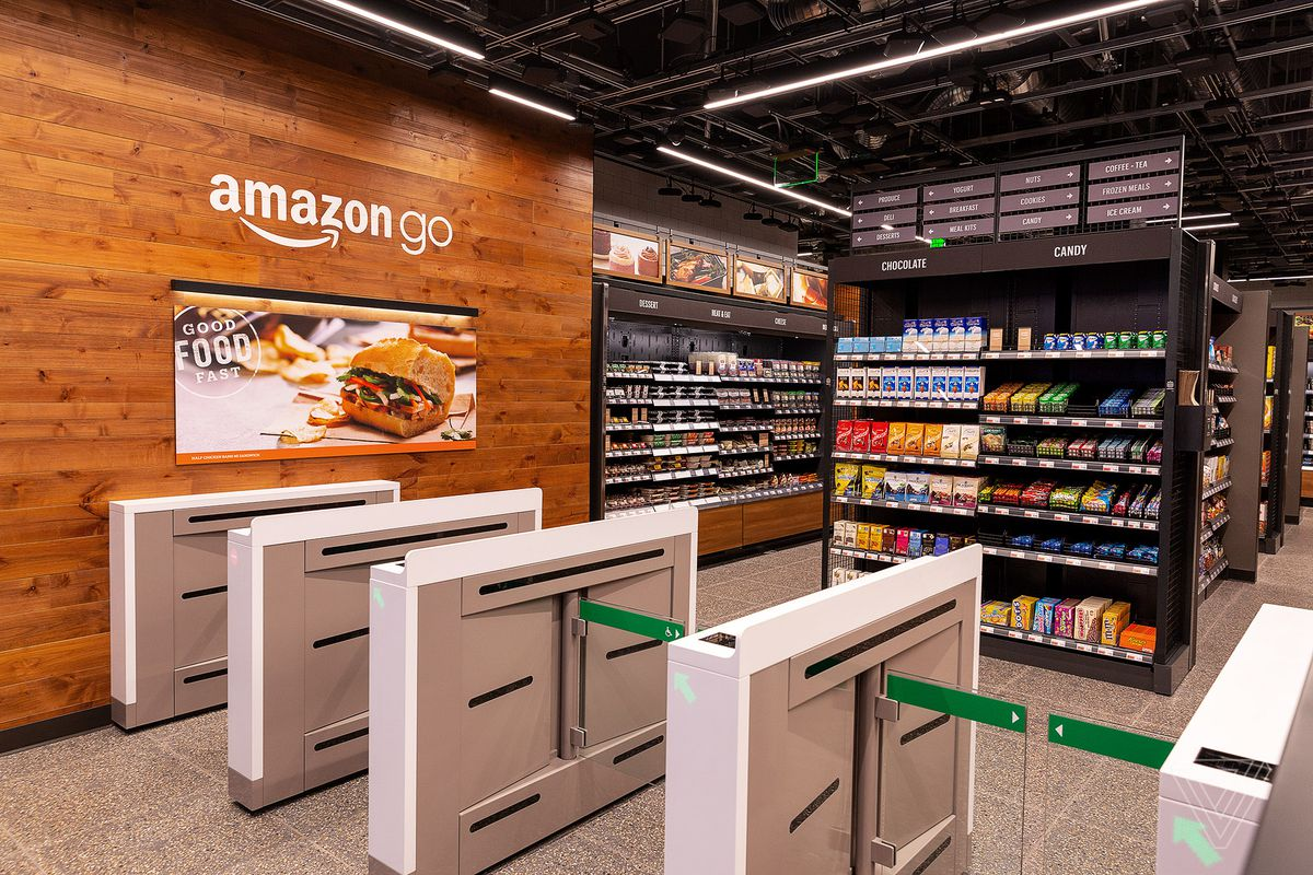 Amazon Go Checkout Free Coles In Ten Years