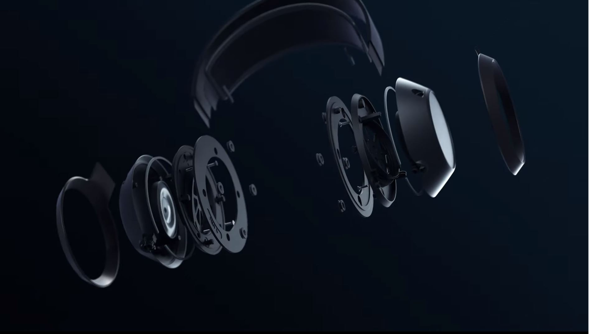 Fidelio X3 exploded view New Flagship True Wireless Headphones From Philips