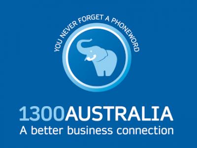 1300 Australia logo