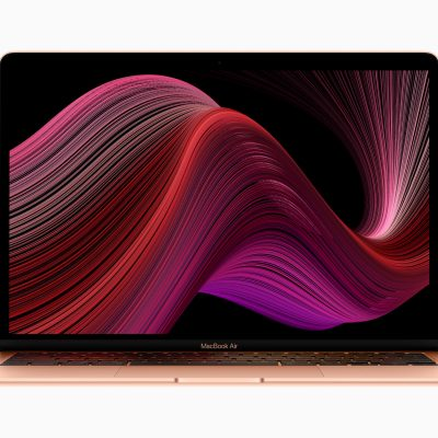 Apple's 2020 MacBook Air.
