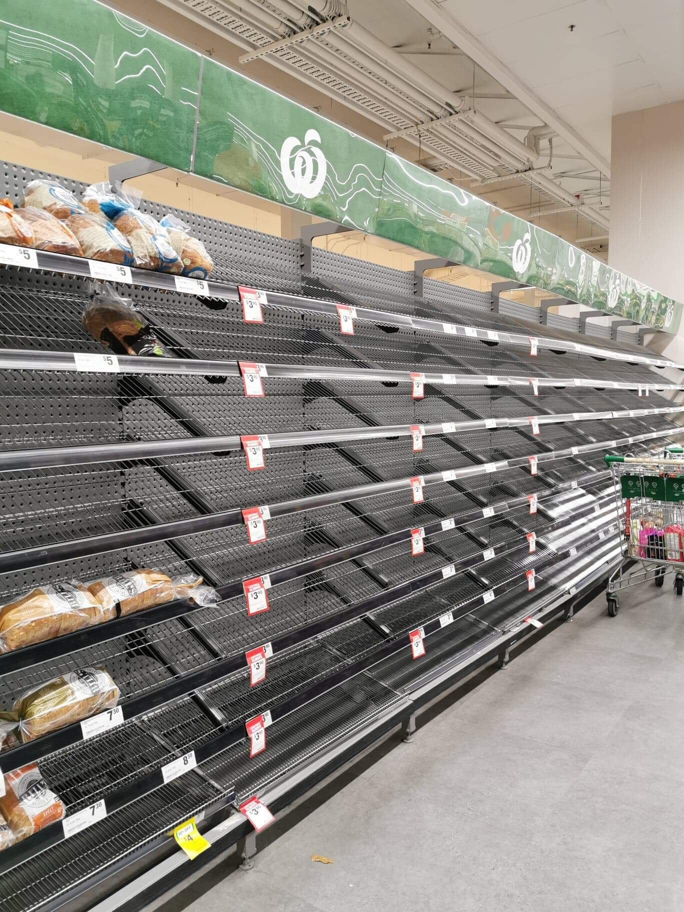 woolworths sold out