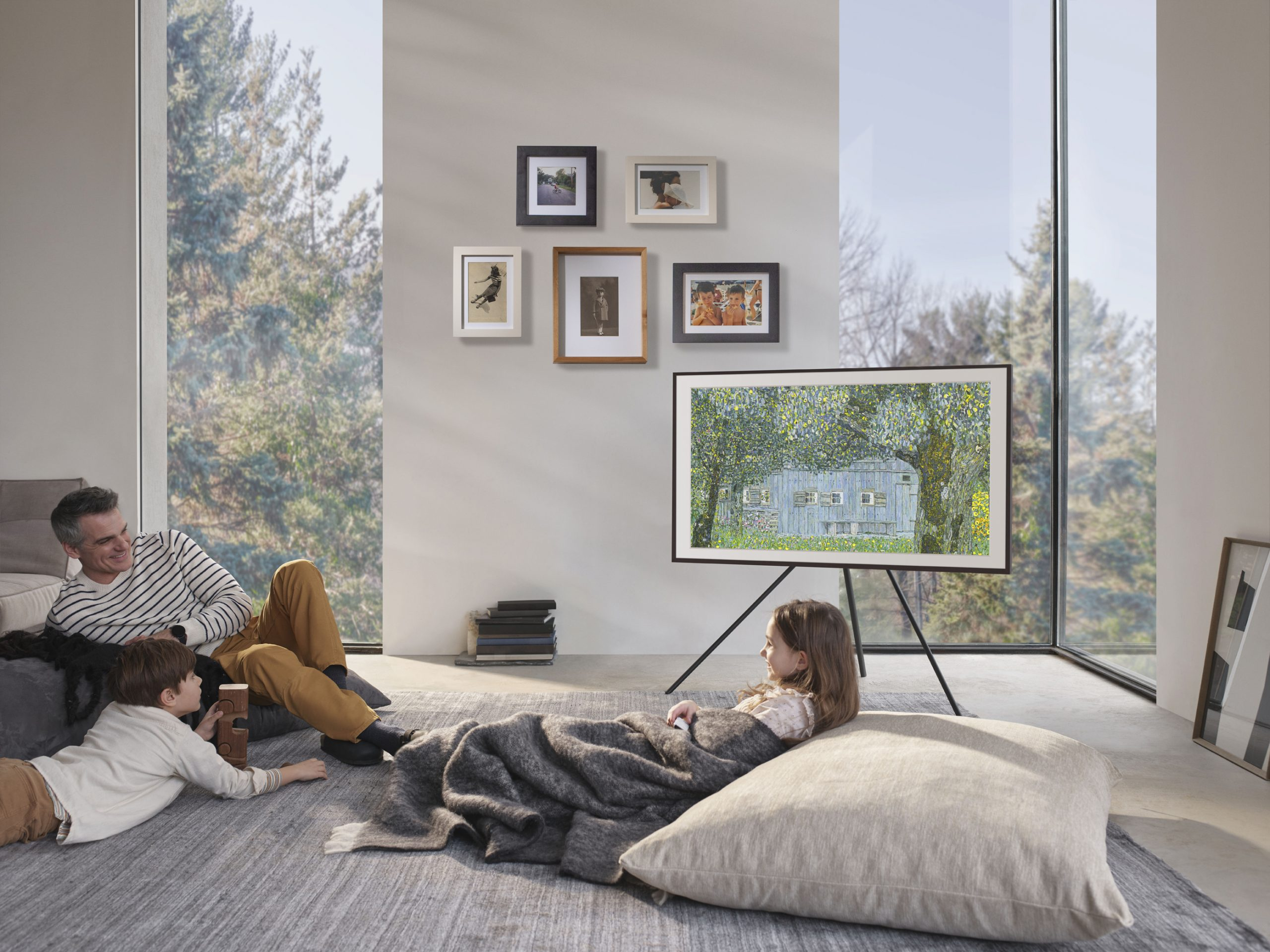 The Frame Lifestyle Samsung 1 scaled A Work Of Art: Samsung Rolls Out Pioneering 2020 Lifestyle TVs