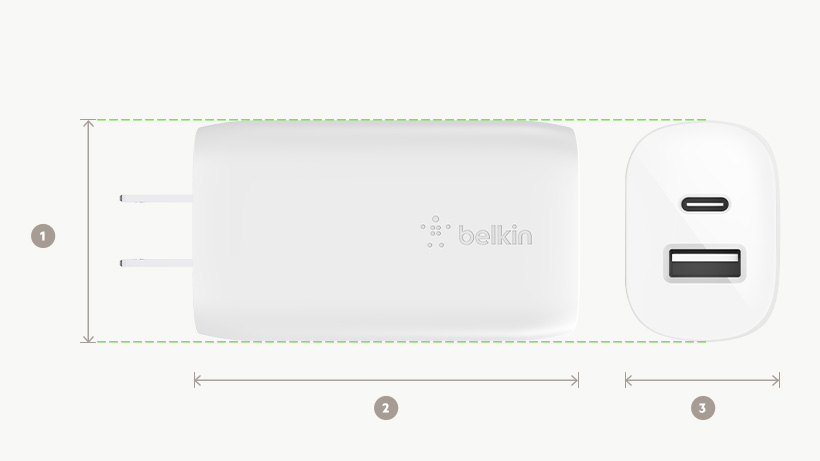 Belkin Boost Up 30W Wall Charger Belkin's Accessories For The New iPad Pro