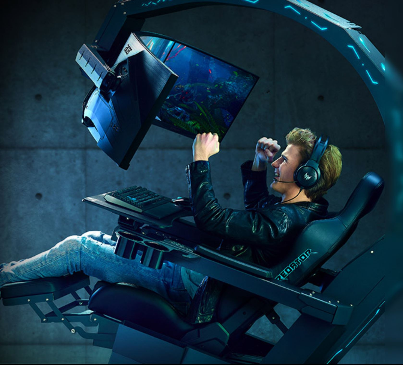 Acer Predator Thronos Air Gaming Chair image Acer Win 12 Red Dot Awards For Innovation & Gaming