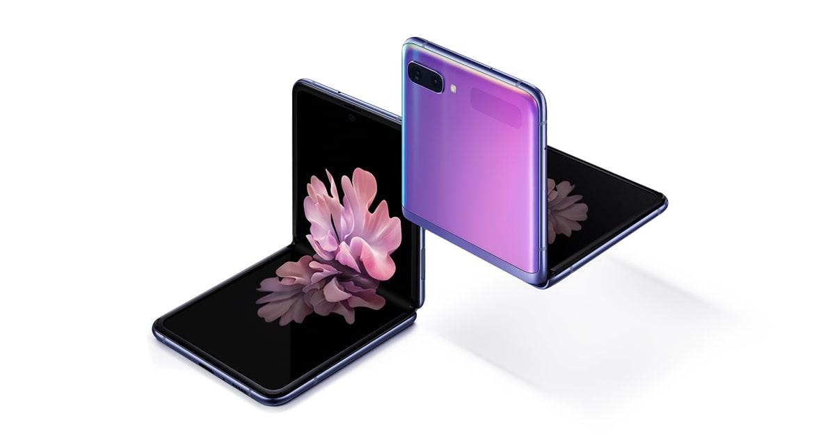 galaxy z flip share image Samsung Set To Seize 80% Of Foldable Phone Market