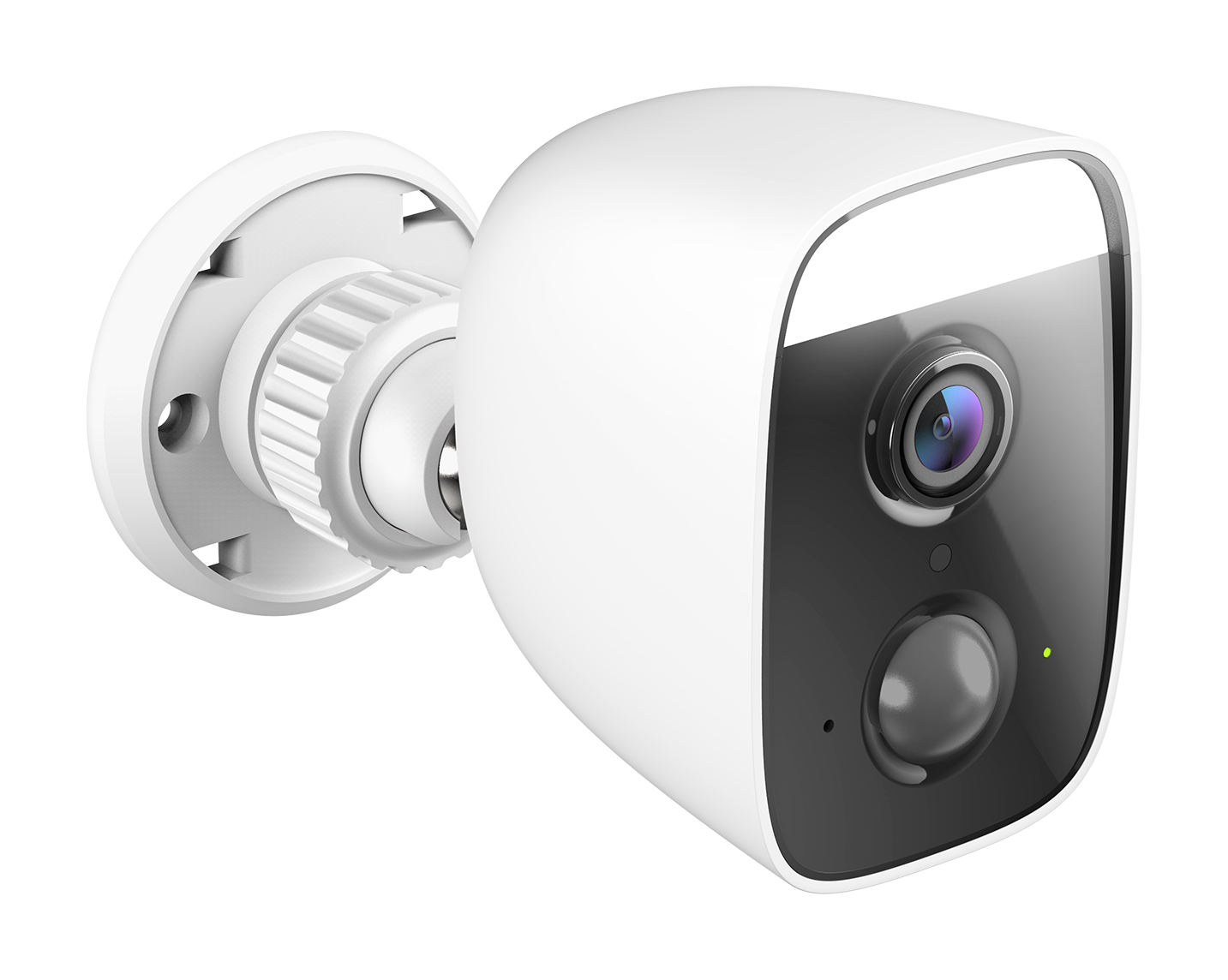 DCS 8630LH A1 Image LSide Right D Link Launch Two AI Based mydlink Security Cameras