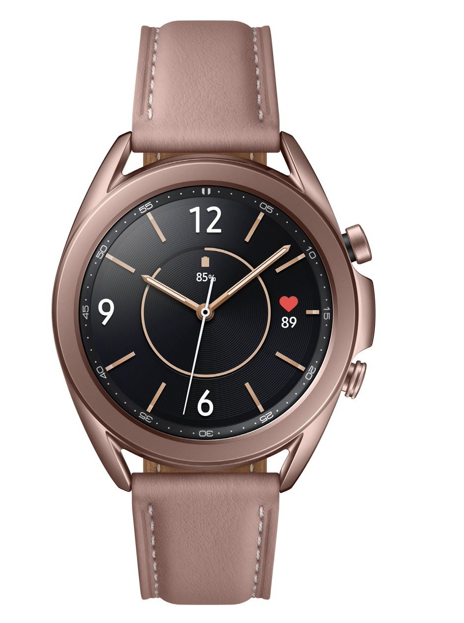 Watch3 Bronze Samsung  New Samsung Watch 3 Pushes The Boundaries, Heart & ECG Tracker built In