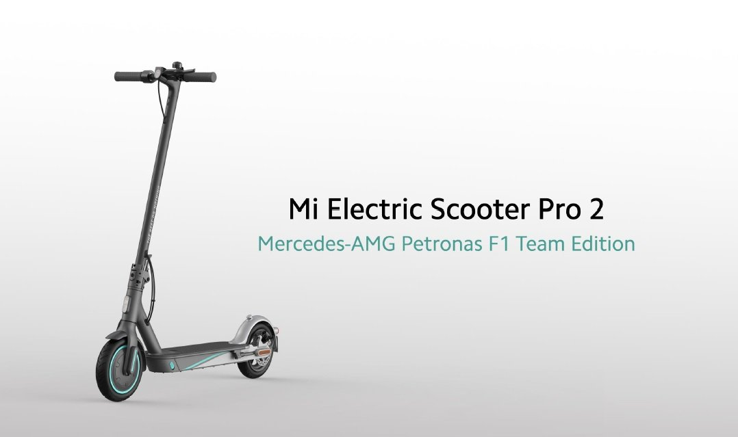 mi electric scooter pro 2 mercedes 2 Xiaomi's Mi Electric Scooter Pro 2 Mercedes AMG Petronas F1 Coming To Oz