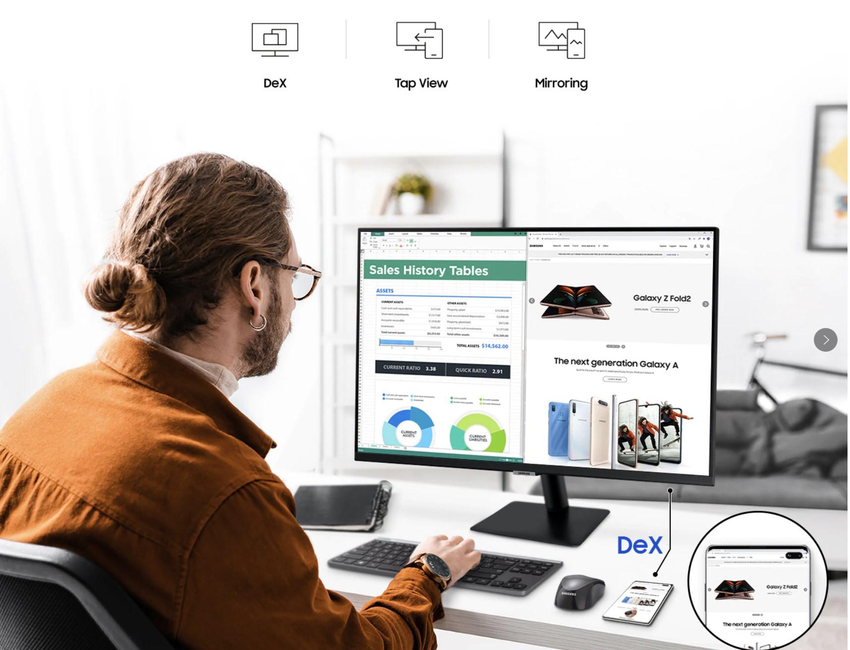 "Samsung M7 Monitor 5 REVIEW: A 32"" Monitor That Mimics A Samsung TV & Gives Office 365 Access"